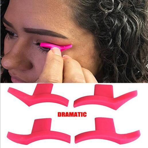 Eyeliner Mold Wings Sellos de sello Fácil de usar Ojos Wing Liquid Eye Liner Herramientas Maquiagem Beauty Portable Cosmetic Delinea