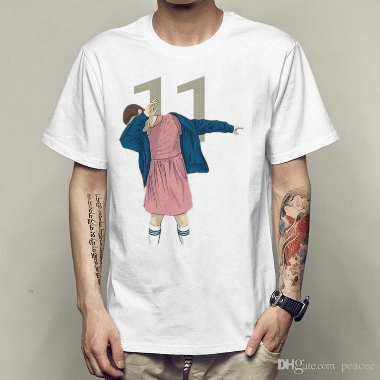Eleven T Shirt Stranger Things 11 Short Sleeve