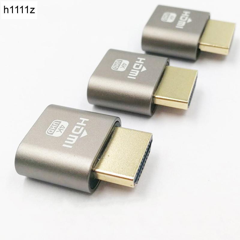 HDMI 1.4 Virtual Display Headless Ghost DDC EDID Dummy Plug Emulator-Adapter