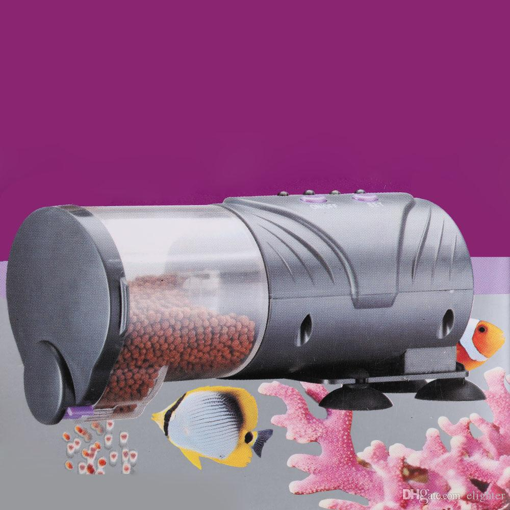 2018 Hot Aquarium Automatische Fish Feeder Smart Fisch Auto Food Timer Fütterung Dispenser Für Fische Mode