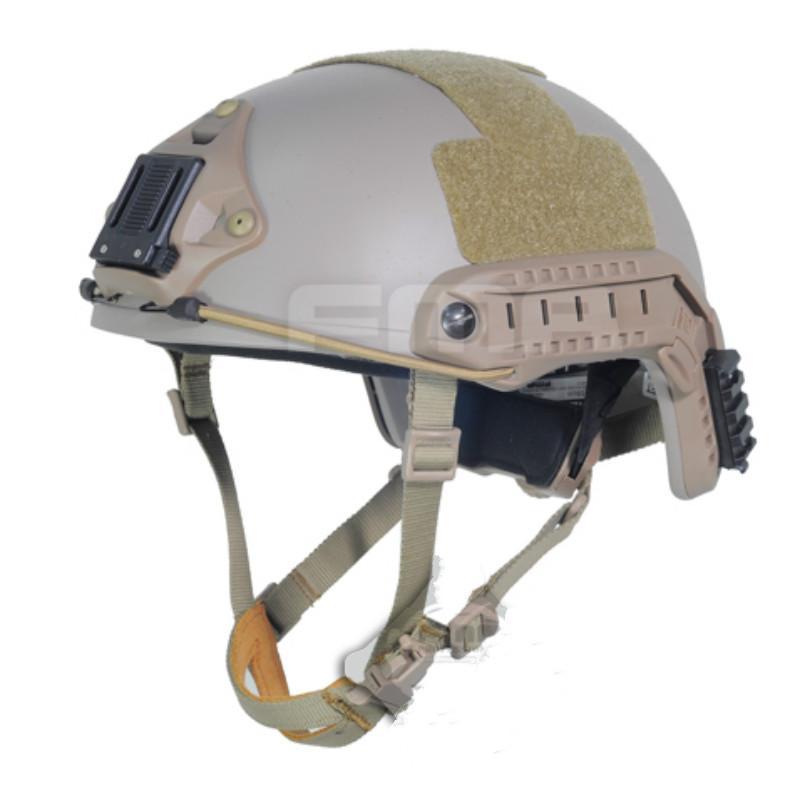 Tactical Ballistic aramid fiber version High Cut Helmet DE M-XL