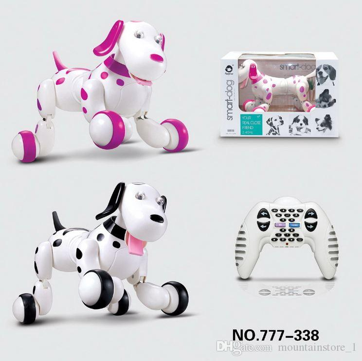 Perfect Birthday Gift RC walking dog 2.4G Wireless Remote Control Smart Dog Electronic Pet Educational Children's Toy Robot Dog