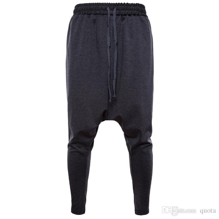 Sport Pants Cotton Trousers Men Tracksuit Bottoms Man Jogger Casual Running Pant 2 Colors