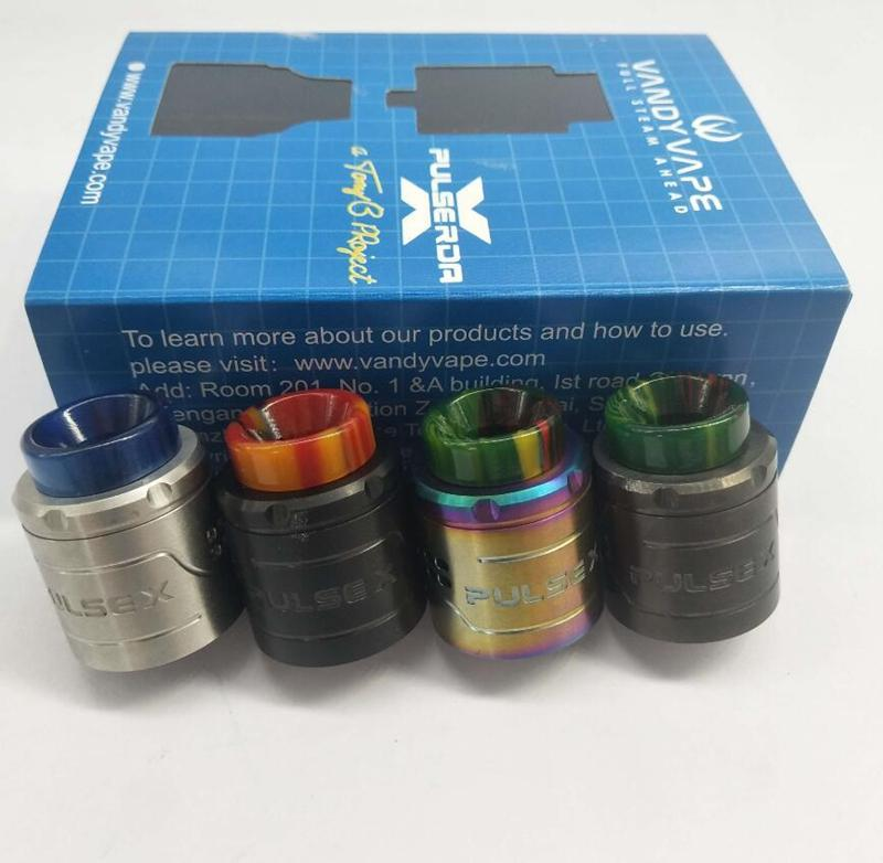 Neueste VandyVape Puls X BF RDA Klon Austauschbare Tropfzerstäuber Vape Dampf Vertikale Build Deck Für 510 Thread Box Mods Hohe Qualität DHL