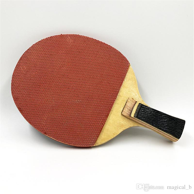 wholesale Ping pong paddle Table tennis racket single shot single only student school sports training equipment DHL free shipping
