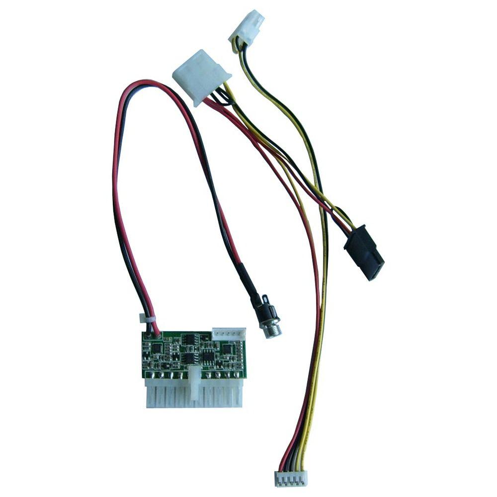 الشحن مجانا 75w mini-itx بيكو الصناعية HL75D-1200 واسعة المدخلات DC-ATX امدادات الطاقة ل mini-ITX المدمجة الصناعية الكمبيوتر ، سيارة قارب pc ps