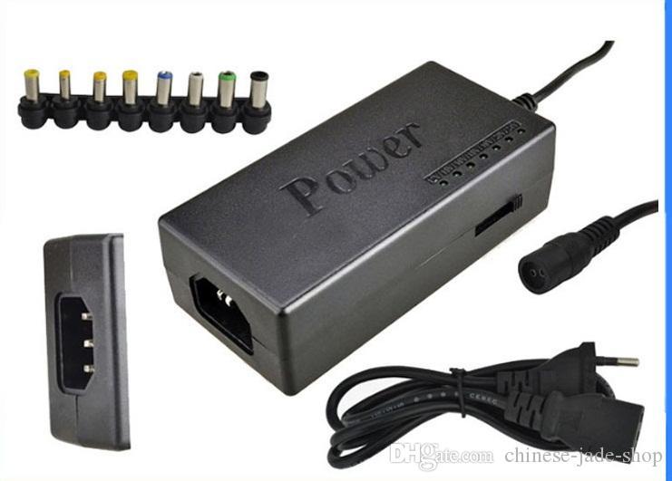 Adaptateur secteur universel de chargeur de l'ordinateur portable 96W 15V-24V AC avec 8 connecteurs 10PCS / LOT