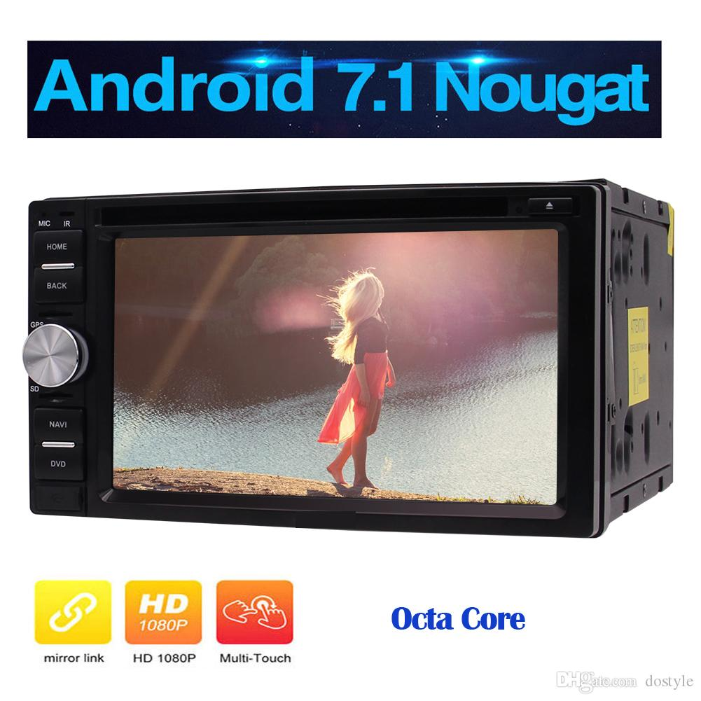 "Eincar 7.1 Android 2GB Car dvd Stereo Octa-core 2 Din Head Unit Big 6.2"" 1024*600 Touch Screen Bluetooth Autoradio GPS Phone"