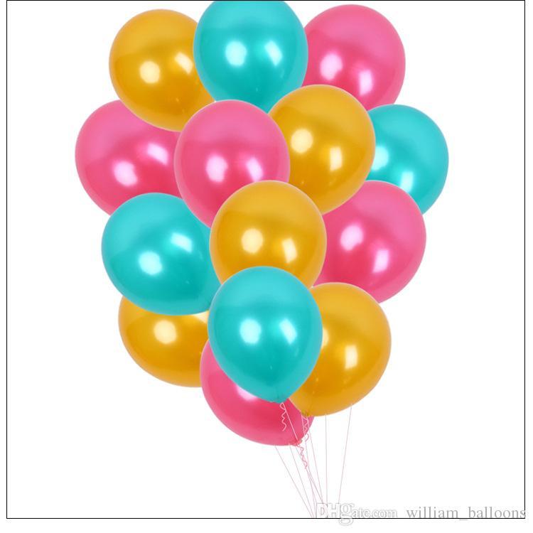"""12 /""""latex ballons fête mariage anniversaire décoration choisir la couleur de 12"""