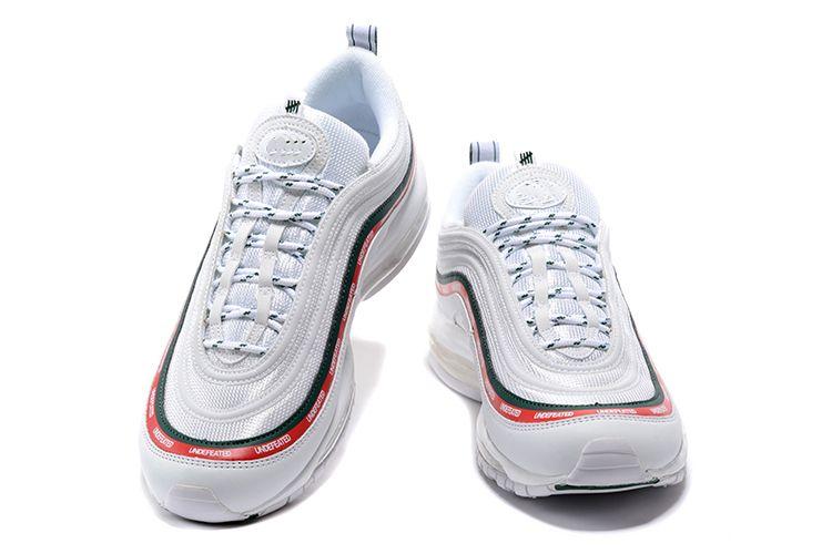Großhandel Nike Air Max 97 OG UNDFTD Airmax 97 OG QS Herrenschuhe 97 Kissen Breathable Casual Schuhe Günstige Massage Running Weiß Flache Turnschuhe