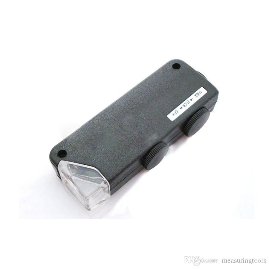 Mini Mondifiers Увеличивая объектив Electronic Lagifier Ювелиры увеличительное Стекло Детское Увеличивание Светодиодный Света MG10081-1