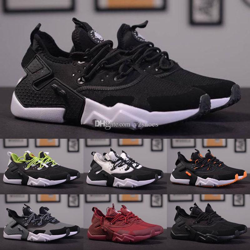 2019 New Huarache 6 X Acronym City MID Leather High Top Huaraches Mens Trainers Running Shoes Men Huraches Sneakers Hurache Size 40-45
