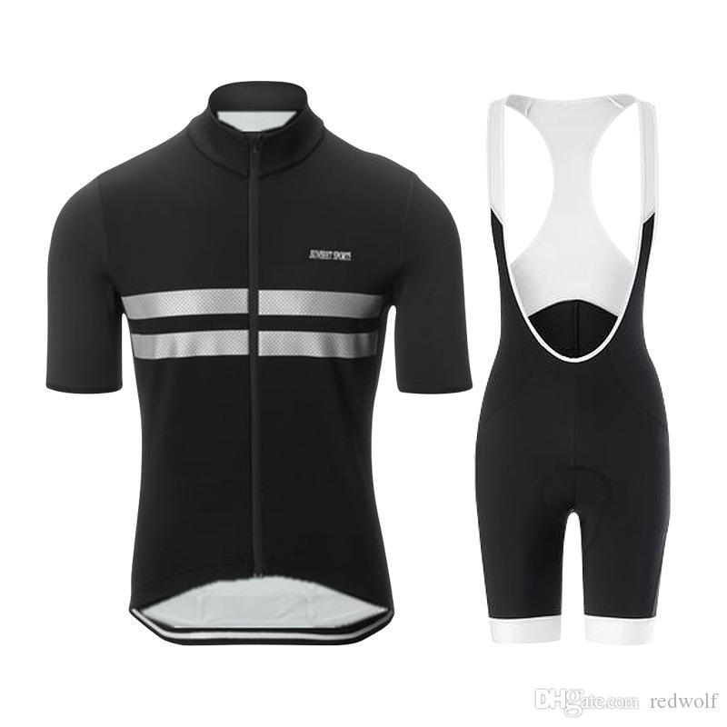 طقم لركوب الدراجات الرجالية ، قصيرة الأكمام ، وسروال قصير من المريلة ، يُمكِّن من ارتداء الملابس الصيفية القصيرة والجذابة ، وركوب الجري السريع ، Ropa Ciclismo