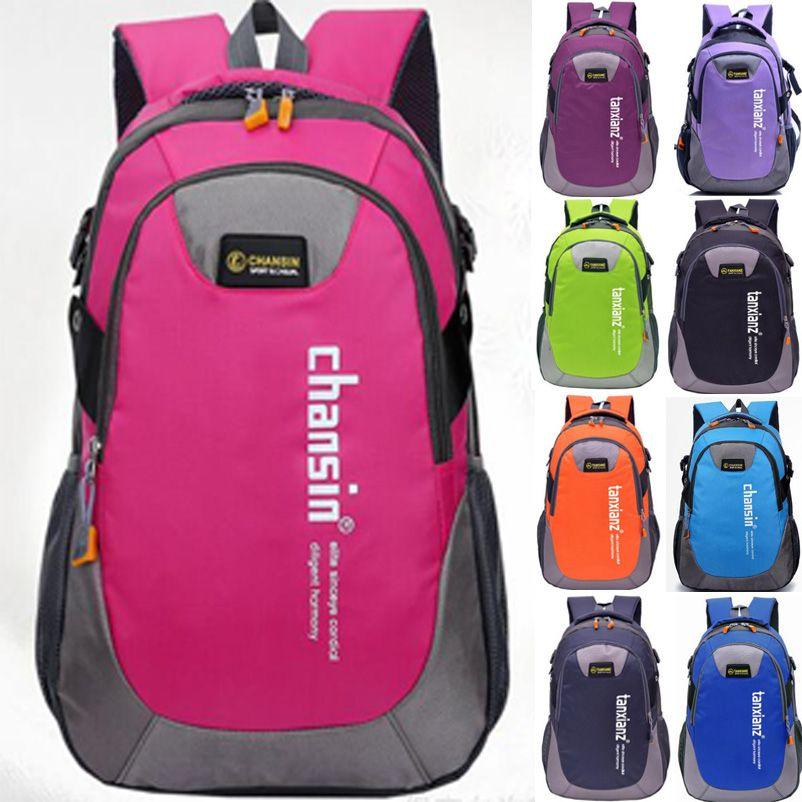 남성 여성 야외 백팩 유니섹스 여행 다목적 등산 배낭 하이킹 대용량 배낭 캠핑 스포츠 가방