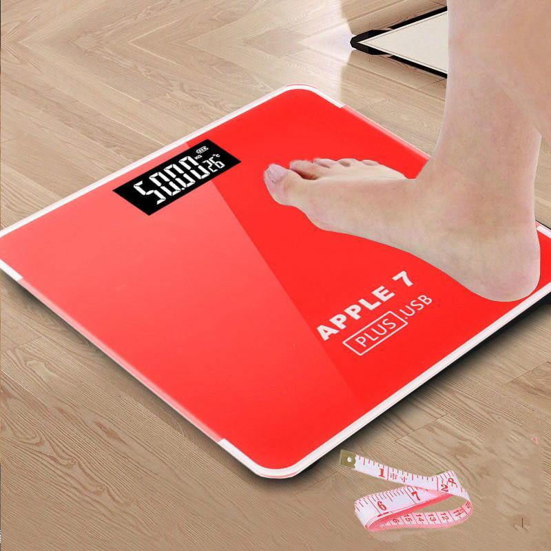 욕실 바닥은 똑똑한 가정용 전자 디지털 몸 bariatric LCD 디스플레이 값 180KG / 50G 배율 비늘
