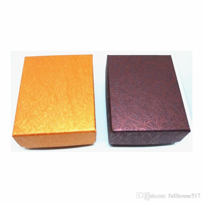 Caixas de presente pequena para Anéis Pendentes Relógios neclaces Papel, Papelão, Caixa de Jóias Caixa de papel para o aniversário do aniversário de casamento