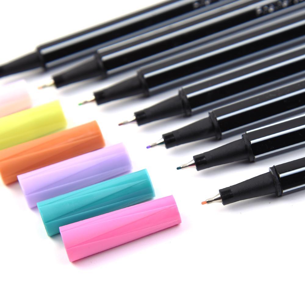 36 farben Feine Liner Pen Set Micron Sketch Marker Farbige 0. 4mm Färbung Für Manga Kunst Schule Nadel Zeichnung Skizze Marker Comics Werkzeug