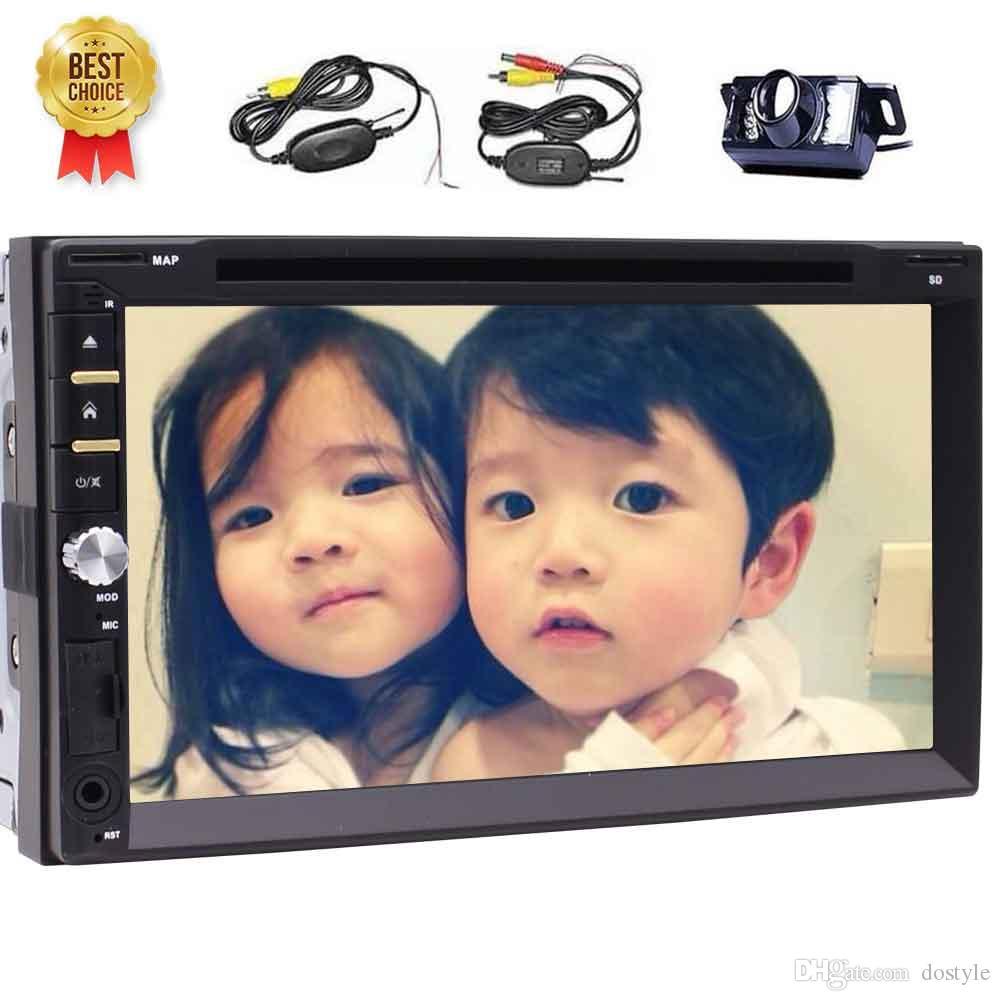 Eincar Güverte Evrensel Çift Din 7 '' Windows CE 8.0 HD Dijital Dokunmatik Ekran Otomotiv Autoradio Araba dvd oynatıcı radyo Stereo Bluetooth