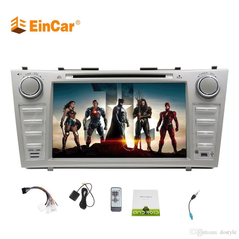 EINCAR Android 9.0 CPU 6 de Base 4G 4G DVR//Dab//Commande a 32Go Simple Din Voiture st/ér/éo avec 7 Pouces HD /écran Tactile pour Universal 1 V/éhicules Din Dash Navigation GPS Headunit WiFi Support