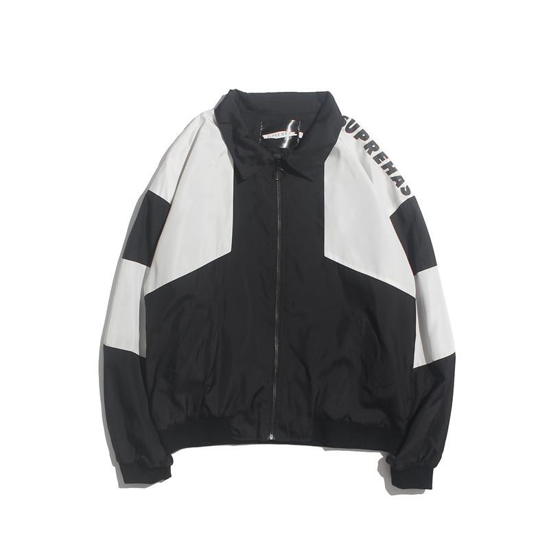 Nuova primavera autunno giacca uomo moda cuciture sottili amanti della giacca cappotti di alta qualità speciale design parka giacca a vento da uomo