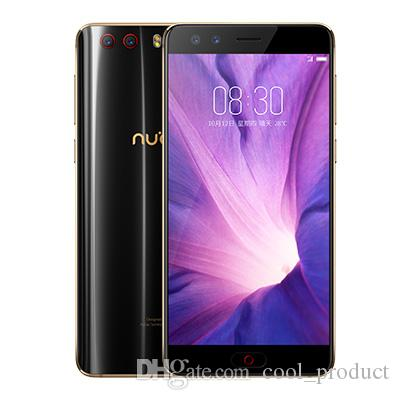 "Original ZTE Nubia Z17 Mini S 6 GB de RAM 64 GB ROM 4G LTE Teléfono móvil Snapdragon 653 Octa Core 5.2"" teléfono celular 16.0MP de huellas dactilares ID NFC inteligentes"