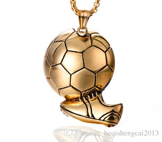 hot newEurope and the United States popular World Cup men's soccer shoes football shooting necklace sports pendant jewelry fashion popular