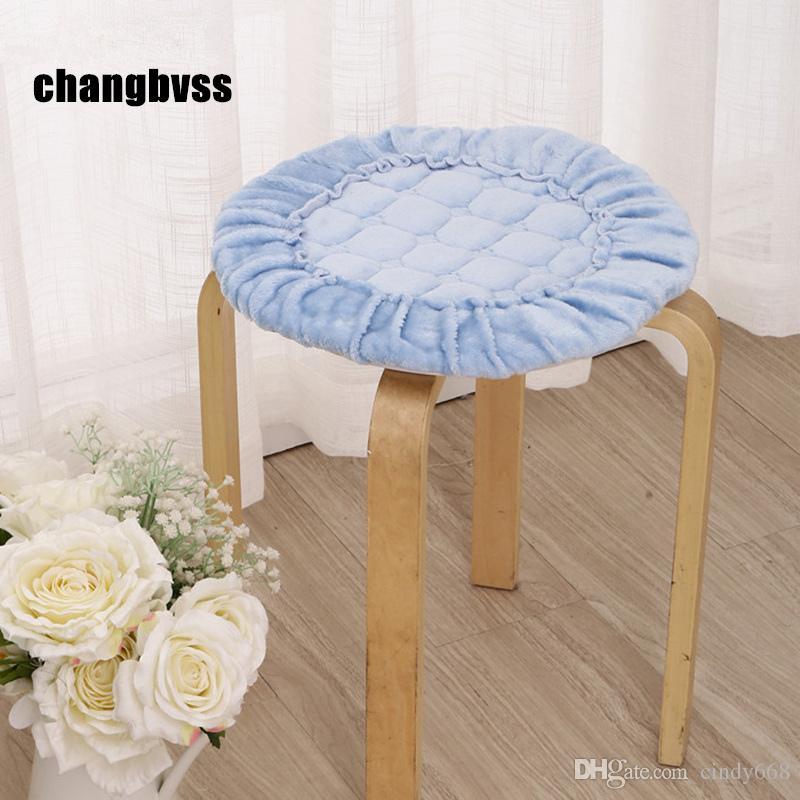 Round Thicken Chair Cushions Home Decor,Diameter 30cm Floor Cushion Pad Mat 1Pcs Dining Seat Cushion almofada decorativa