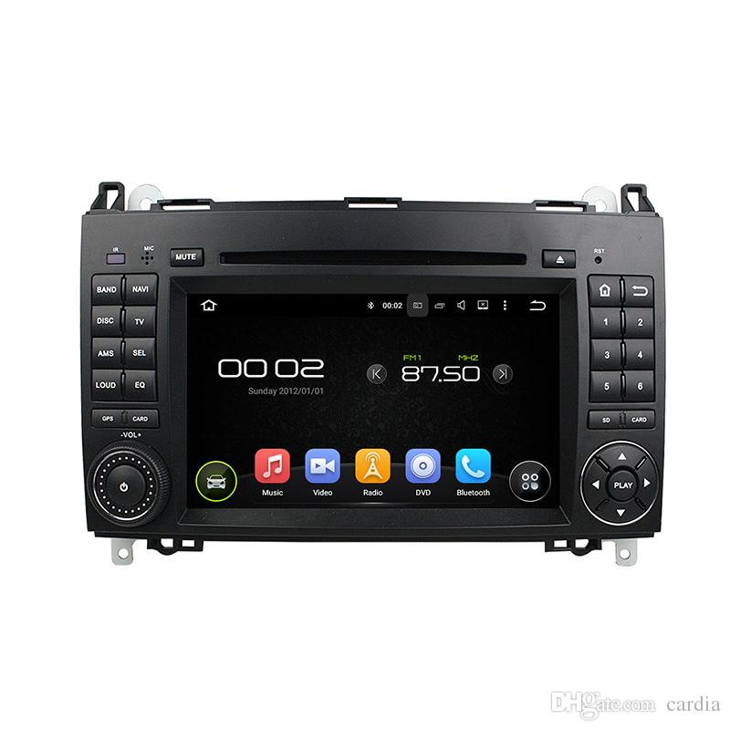Car DVD player for Benz A-W169 B-245 Viano Vito 7inch 4GB Ram Andriod 8.0 with GPS,Steering Wheel Control,Bluetooth, Radio
