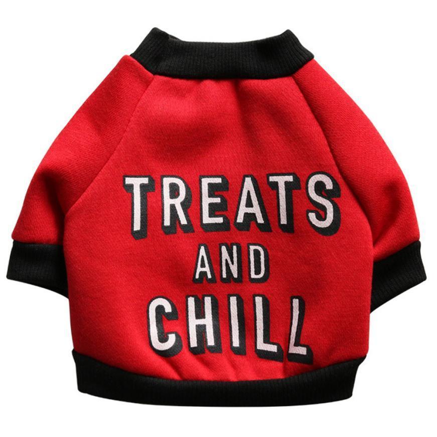 8 pc / lotto astuto bello attraente dell'animale domestico del cucciolo del cane divertente lettere in pile shirt Abbigliamento vestiti caldi maglione vestiti del cane di trasporto