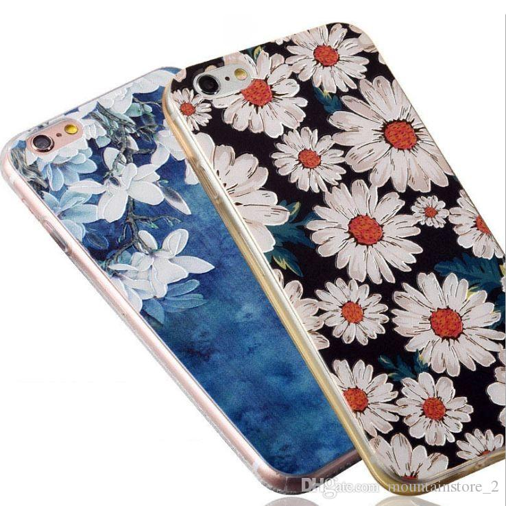 case For iphone X 8 7 plus Case Ultra-thin Scrub Silicone Phone Cases For iphone 6S Plus X