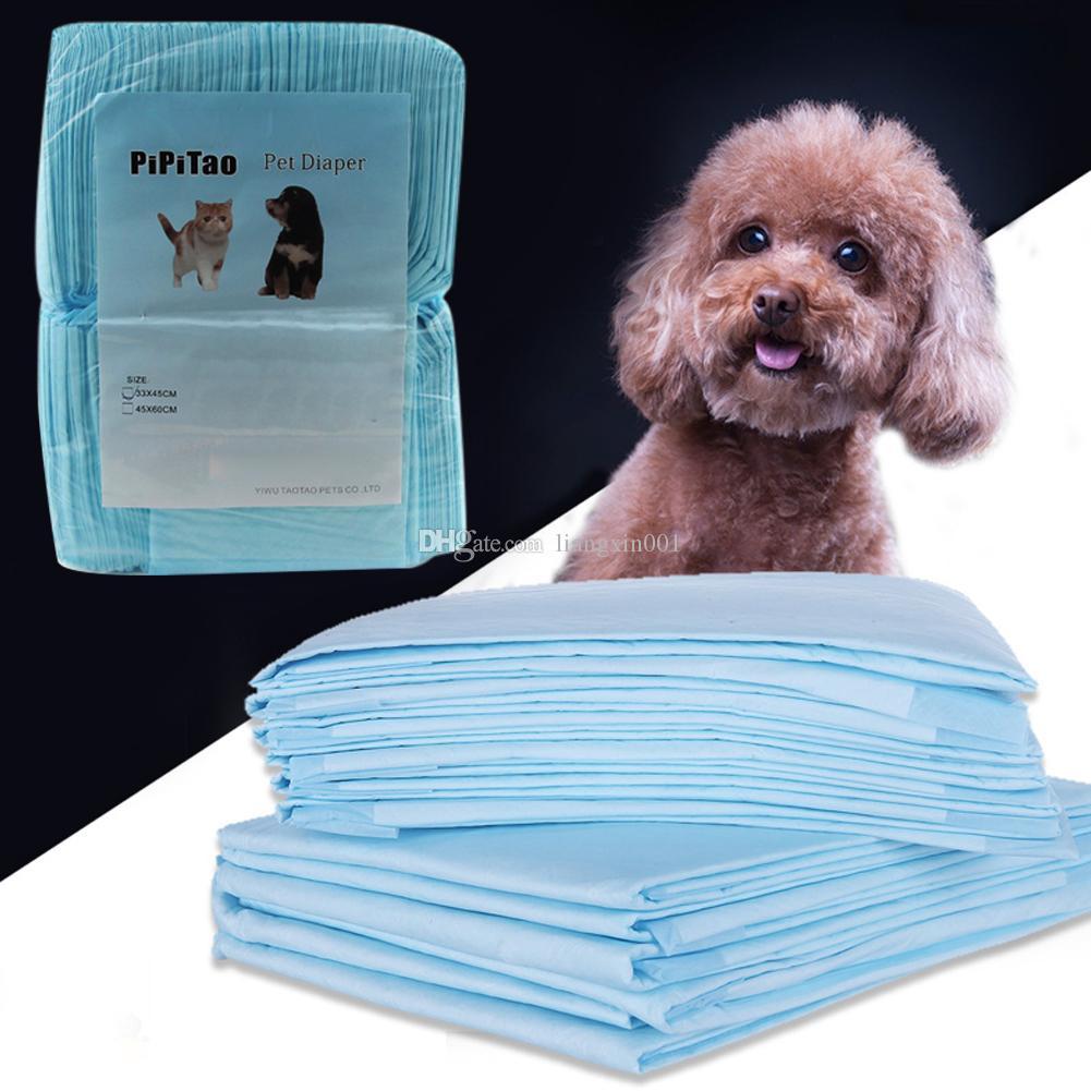 Mascota Housebreaking Pad para mascotas Pee Formación Pads Underpads mantenerse sano limpio impregnado estera del animal doméstico cachorro de perro Los pañales 33 x 45cm 40-100Pcs / set
