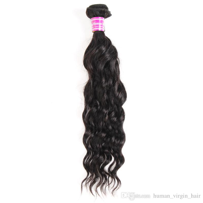 New Arrivals Brazilian Virgin Hair Water Wave Remy Human Hair Weave Bundles Hot Selling 8A Peruvian Indian Malaysian Hair Wefts Extensions