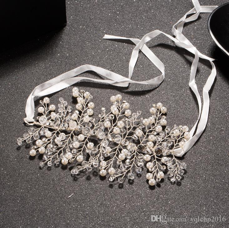 Обруч для волос ручной работы золотая невеста в виде короны европейский и американский аксессуары в стиле ретро