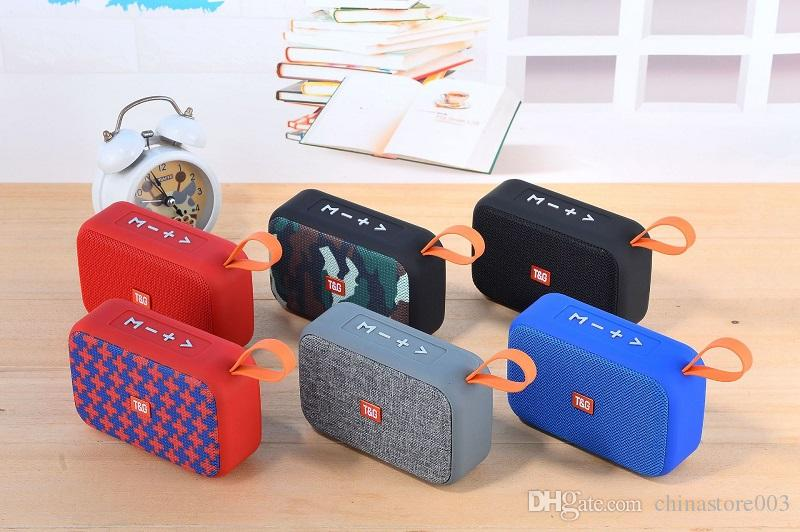 Portable Mini Bluetooth Speakers Hot Sell FM Radio MP3 Music Player Outdoor Wireless Stereo Subwoofer Speaker Good Sound Better Clip2 Clip3