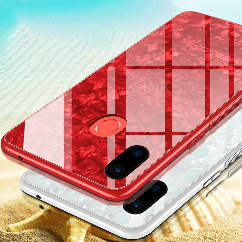 vendita outlet cc040 22442 Tempered Glass Case For Xiaomi Redmi S2 Note 5 Soft Luxury Bling Edge Hard  Back Case For Xiaomi MI MIX 2S MI 6 6X 8 Note 3 Cover Cell Phone Covers ...