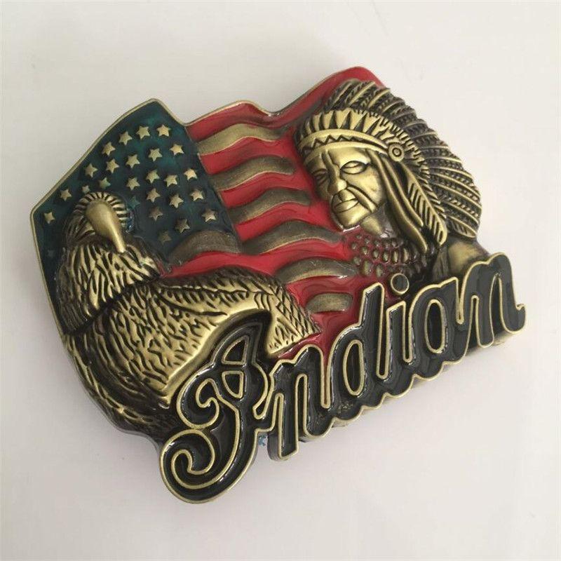 Hebilla de cintur/ón American Eagle Belt Buckle USA Flag