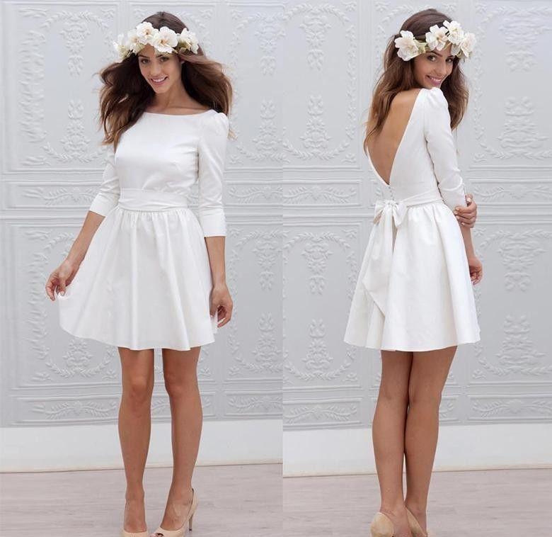 Acheter Robe De Mariée Courte Réception De