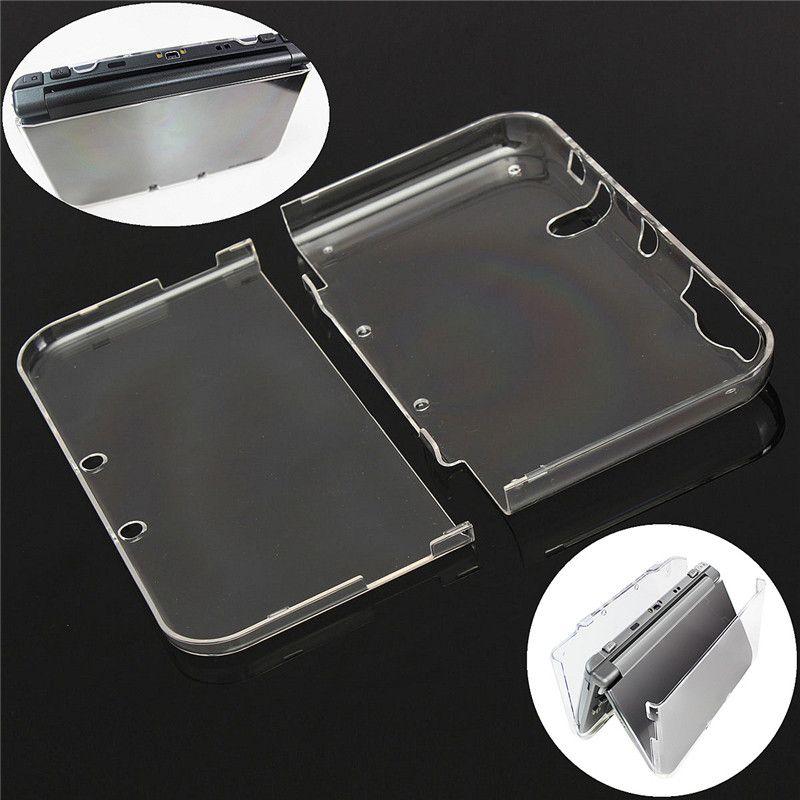 Przezroczysty Plastikowy Kryształowy Ochronny Kryształ Hard Shell Case Pokrywa dla nowych 3DS XL LL Wysokiej jakości szybki statek