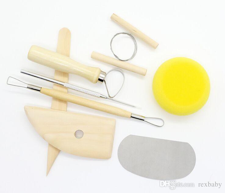 Reusable Diy Pottery Tool Home Handwork Wear Resistant Supplies Clay Sculpture Ceramics Molding Drawing Tools Universal Flexible