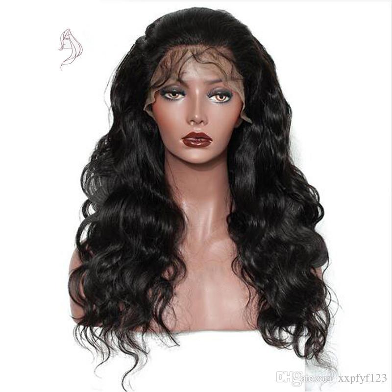 Beautiful Black Lolita Long Wavy Animation Full Wig Long black wig black wig curly wigs FZP32