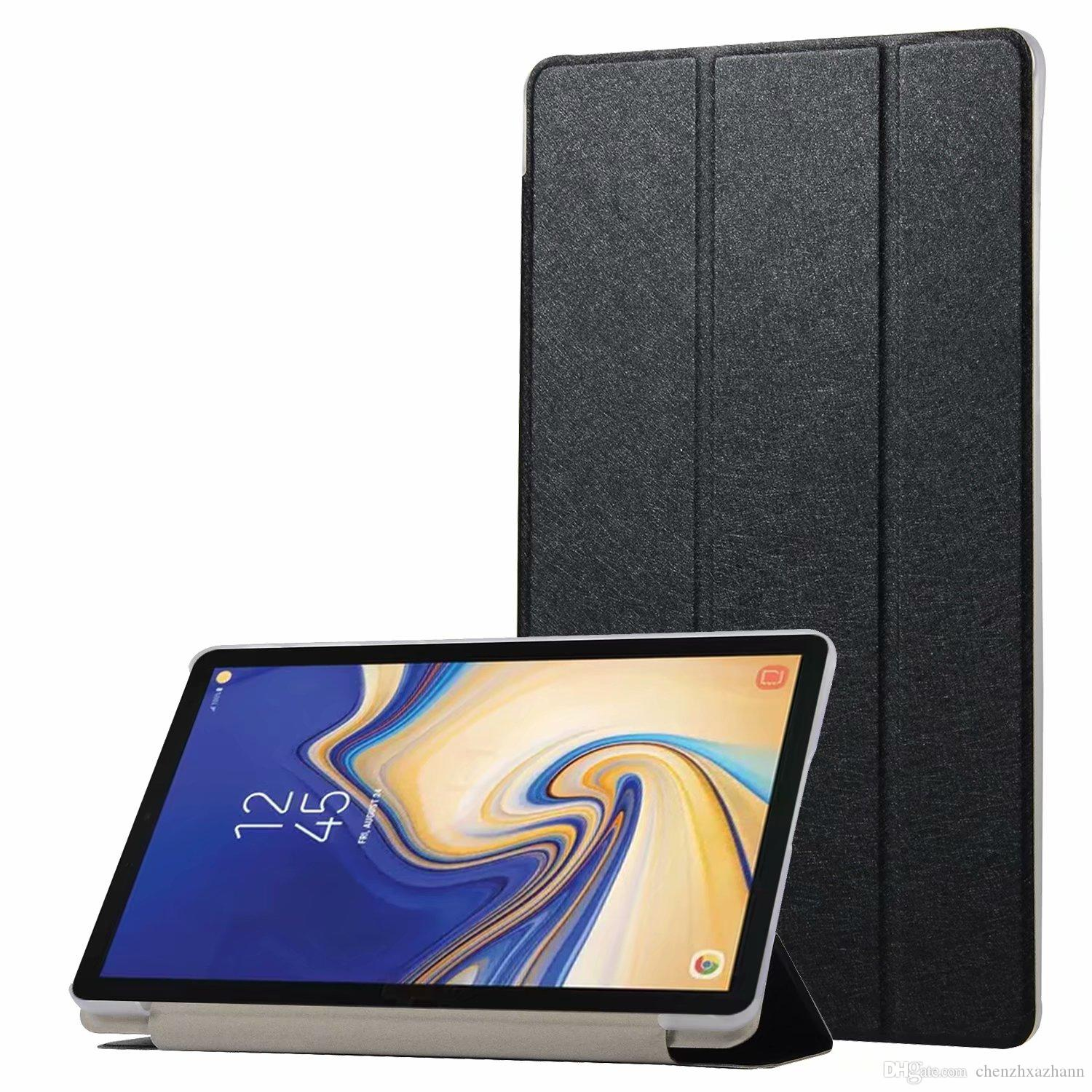 the best attitude ff919 28a99 Case For Samsung Galaxy Tab S4 T830 T835 10.5 Inch Luxury PU Leather Smart  Flip Cover Case For Samsung Galaxy Tab S4 10.5+Pen 7 Tablet Cases For Cheap  ...