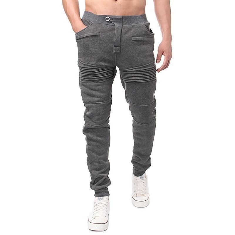 Fashion Moletom Men Casual Pants Men Sweatpants Clothing Trousers Hip Hop Baggy Harem Pants Mens Joggers Pantalones 8J1142