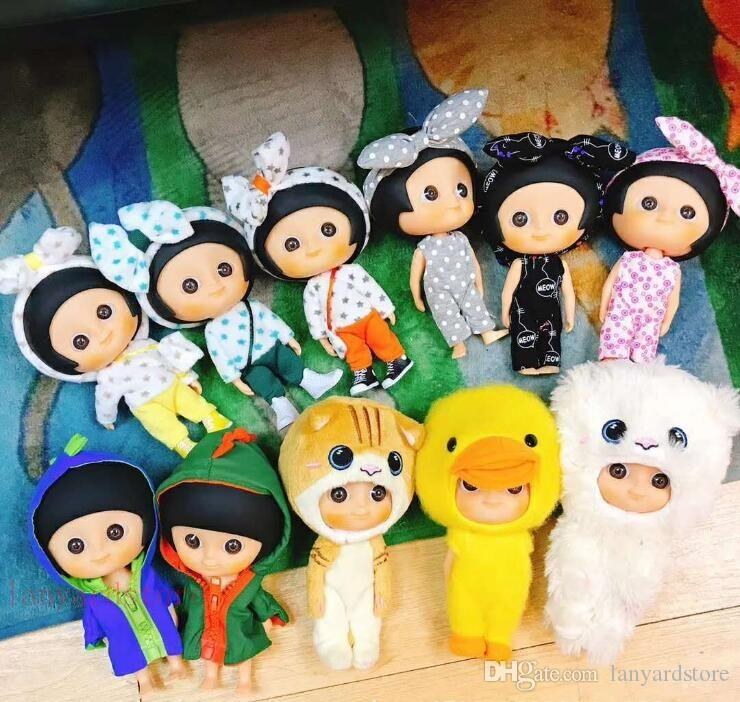 Lovely big sister doll handle ornaments gifts for men and women children's gifts model toys toys Super motion.