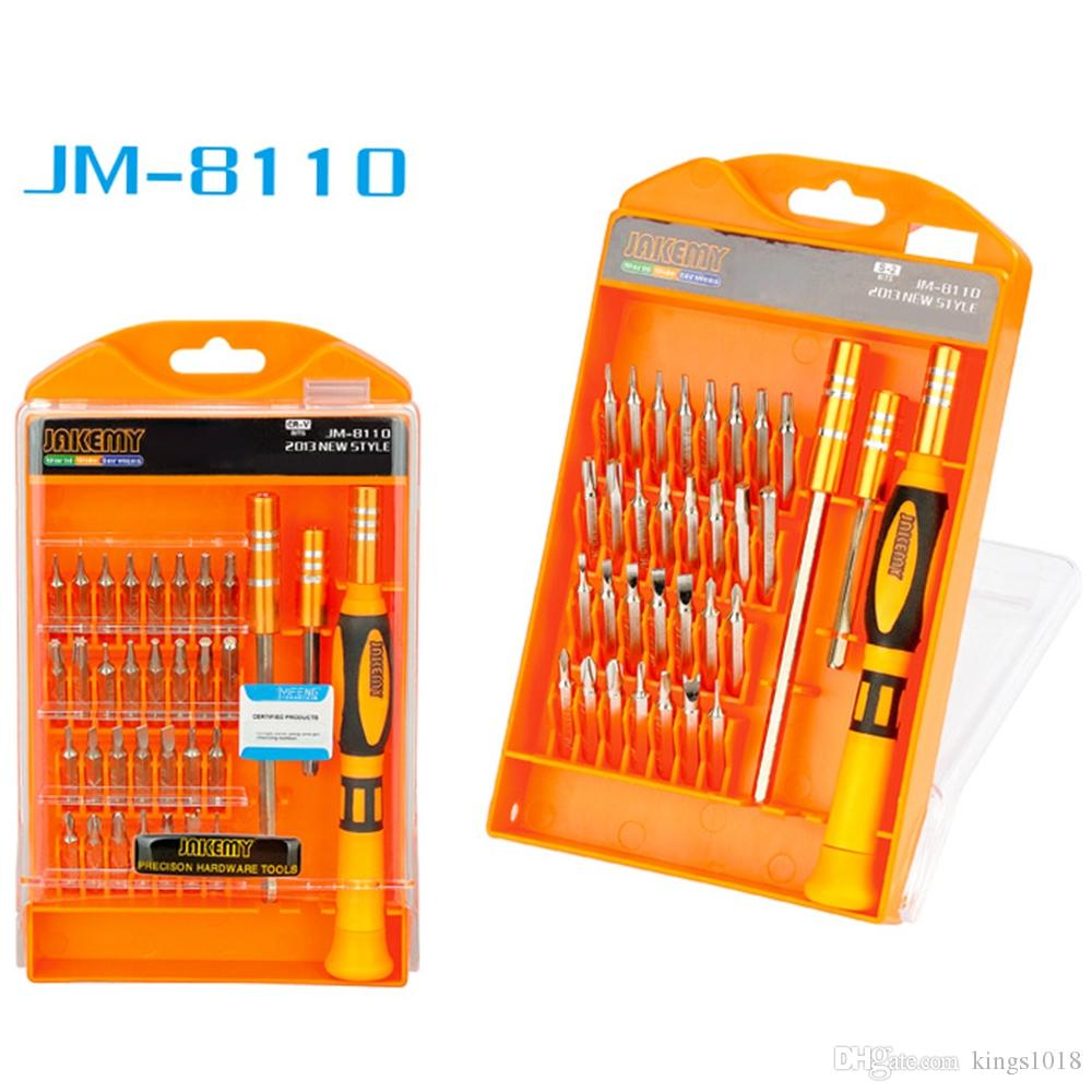new 33 in 1 Professional Magnetic Screwdriver Kit For Mobile Phone Laptop Tablets Cellphone Computer PC Repair Fix Hand Tool Set
