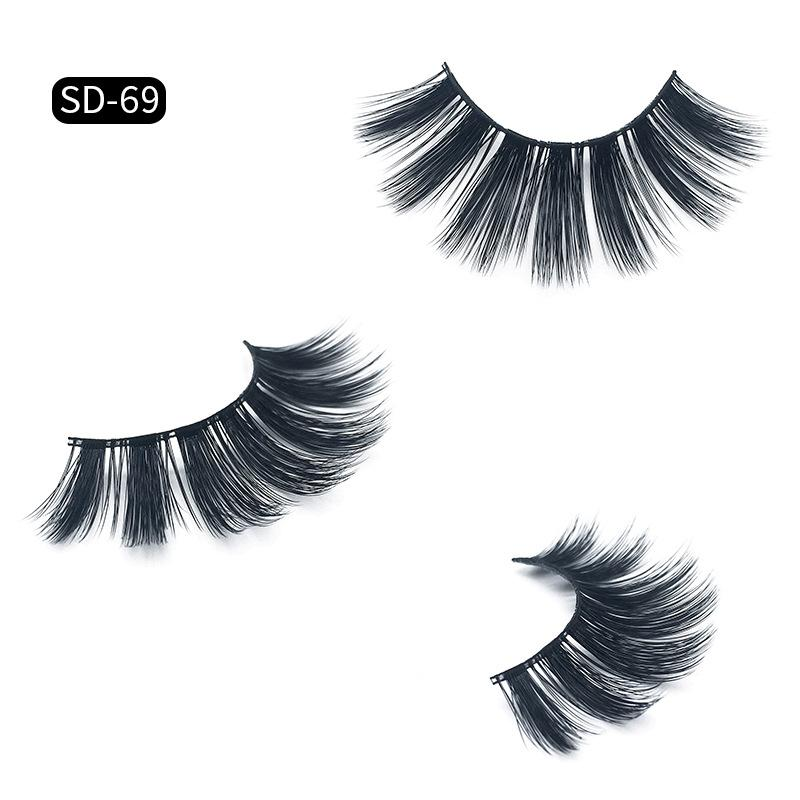 17 styles 3D Mink Eyelashes Eye lash Extension Sexy False Eyelashes Natural Thick Fake Eye lashes Full Strip Mink Eye Lashes Beauty DHL