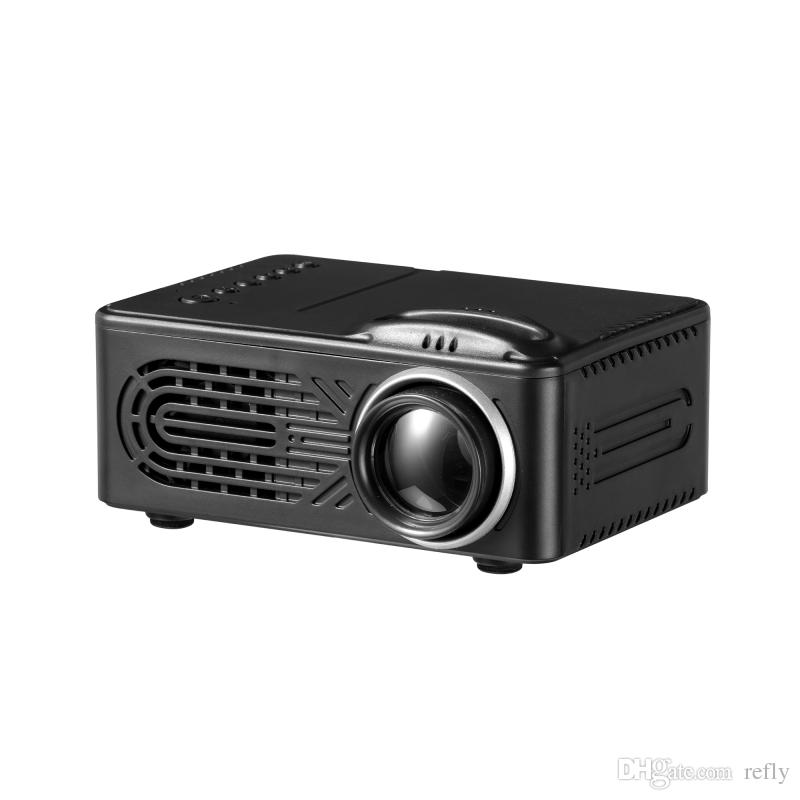 New RD-814 LED Mini Projector 320 x 240 Home Theater Proyector Support 1080P Portable VS YG300 Projector