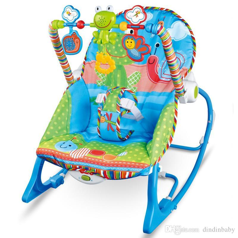 Brilliant Baby Rocking Chair Musical Electric Swing Chair High Quality Vibrating Bouncer Chair Adjustable Kids Recliner Cradle Chaise Accessories Glider Rocker Short Links Chair Design For Home Short Linksinfo