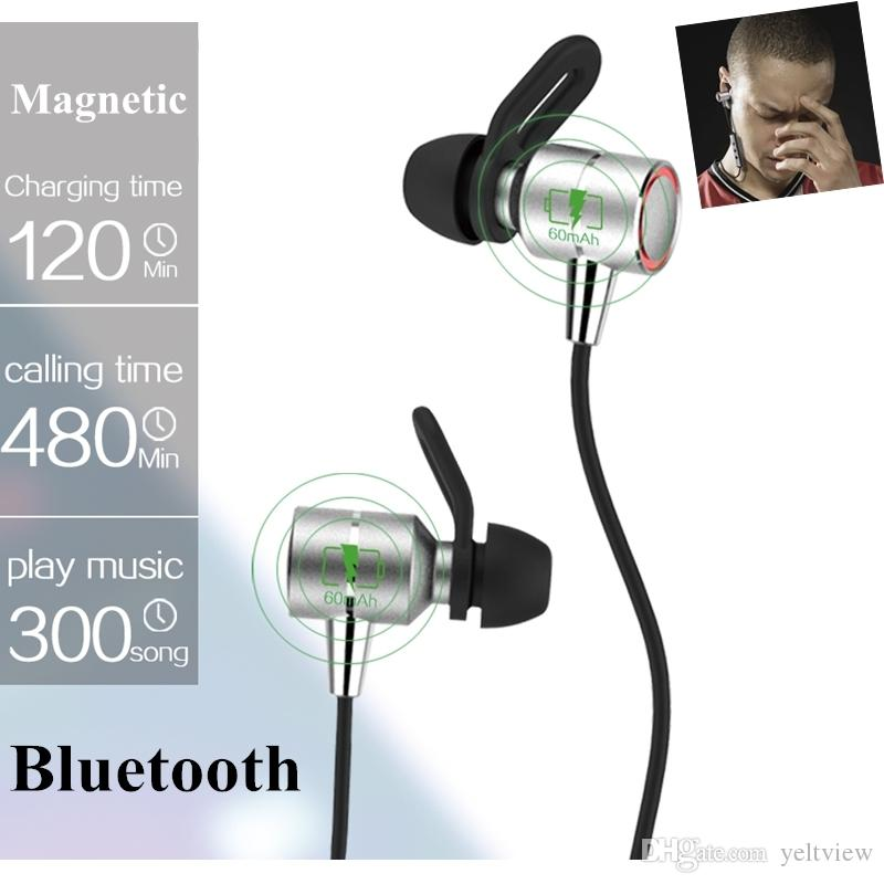 S60 Wireless Bluetooth Headphones Sport Anti Sweat Bluetooth Earphone Metal Magnetic Neckband Earbud With Mic For Huawei Iphone Headset Telephone Wireless Headset Bluetooth Headphones For Cell Phones From Yeltview 10 7 Dhgate Com