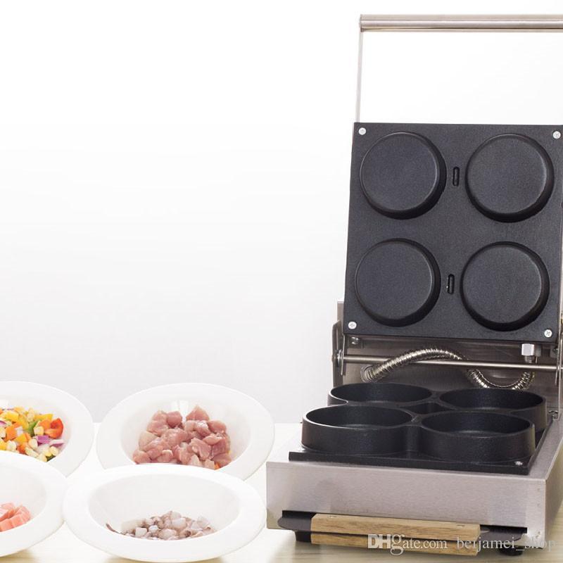 Beijamei paslanmaz çelik ticari pizza yapma makinesi çok fonksiyonlu pizza pişirme makinesi elektrikli satılık pizza makinesi