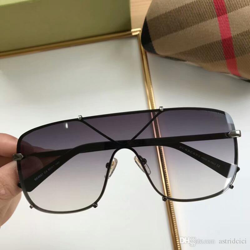 Großhandel 2019 Frauen Luxus Sonnenbrille Mono Objektiv Uv Schutz ...